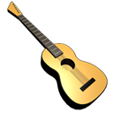 guitar Black icon