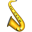saxophone Black icon