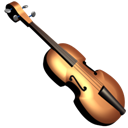 Violin Black icon