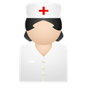 Nurse, medical Black icon