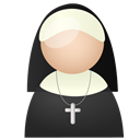 nun DarkSlateGray icon