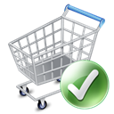webshop, shopping cart, shopping, buy, E commerce, Cart, exclude, shopcartapply, commerce, Added Black icon