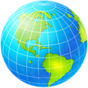 earth, globe, world, planet DodgerBlue icon