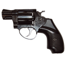 Mod, Empty, Blank, revolver Black icon