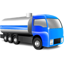 transportation, Automobile, tanker, vehicle, transport, truck Black icon