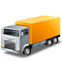 truckyellow Black icon
