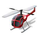 helicoptermedical Black icon