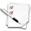 Edit, Centang, writing, stock, Check, write, task, todo WhiteSmoke icon