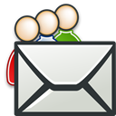 envelop, send, Email, Letter, mail, group, Message DarkSlateGray icon