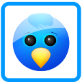 Social, twitter, Sn, social network DodgerBlue icon
