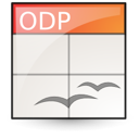 open document, Presentation, Oasis, Application Linen icon