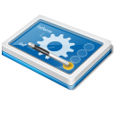 option, Setting, configuration, preference, config, Configure SteelBlue icon