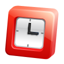 Full, history, time Black icon