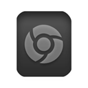 chrome, html Black icon