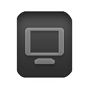 video Black icon