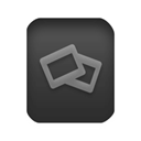 Slide Black icon