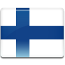 Country, finland, flag MidnightBlue icon