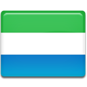 flag, leone, Country, Sierra MediumSeaGreen icon