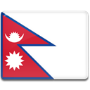 flag, Country, Nepal Crimson icon
