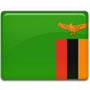 flag, Country, Zambia ForestGreen icon