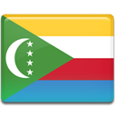 flag, Country, Comoros SeaGreen icon