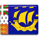 And, Country, saint, miquelon, pierre, flag Icon