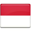 monaco, flag, Country Crimson icon