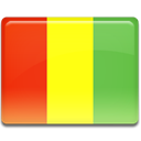 guinea, flag, Country Yellow icon