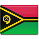 flag, Country, Vanuatu Crimson icon