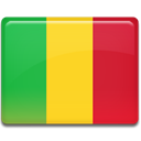 Country, flag, Mali Gold icon
