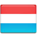 Luxembourg, flag, Country Tomato icon