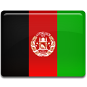 Country, flag, Afghanistan ForestGreen icon