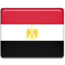 flag, Country, Egypt Crimson icon