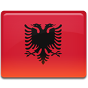 shqiperia, flag, Country, Albania Crimson icon