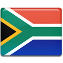 south, flag, Africa, Country Tomato icon