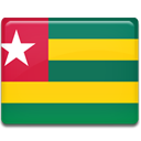 Togo, Country, flag SeaGreen icon