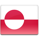 Country, Greenland, flag Crimson icon
