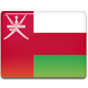 flag, Oman, Country Crimson icon