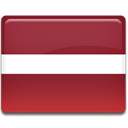 Latvia, Country, flag Brown icon