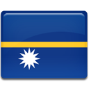 Nauru, flag, Country MidnightBlue icon