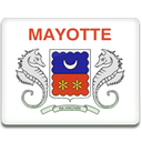 Country, mayotte, flag Gainsboro icon