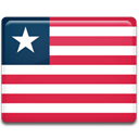 Liberia, flag, Country Crimson icon