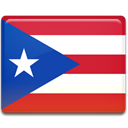 flag, Country, Puerto, rico Crimson icon