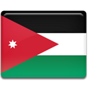 flag, Jordan, Country Crimson icon