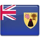 And, flag, caicos, Country, turk, Island DarkSlateBlue icon