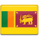 Country, sri, Lanka, flag Gold icon
