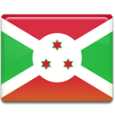 Country, flag, Burundi LimeGreen icon