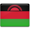 Country, flag, Malawi Crimson icon