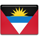 Country, And, barbuda, flag, antigua Crimson icon
