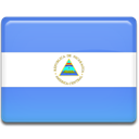 flag, Country, Nicaragua CornflowerBlue icon